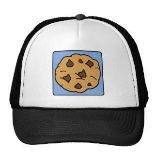 Cartoon Clip Art Chocolate Chip Cookie Dessert Trucker Hats
