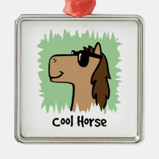 Cartoon Clip Art Cool Horse Wearing Sunglasses Ornament