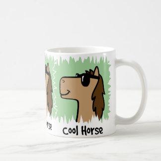 Cartoon Clip Art Cool Horse Wearing Sunglasses Mugs