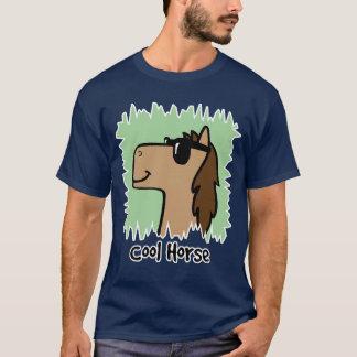 Cartoon Clip Art Cool Horse Wearing Sunglasses T-Shirt