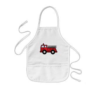 Cartoon Clip Art Firetruck Emergency Vehicle Truck Apron