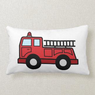 Cartoon Clip Art Firetruck Emergency Vehicle Truck Pillow