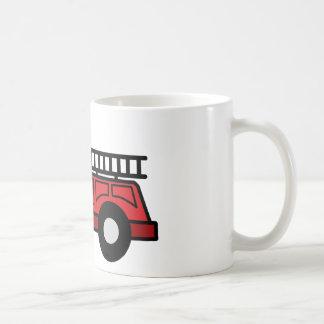 Cartoon Clip Art Firetruck Emergency Vehicle Truck Mugs
