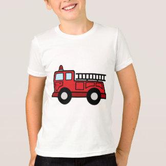 Cartoon Clip Art Firetruck Emergency Vehicle Truck T-Shirt