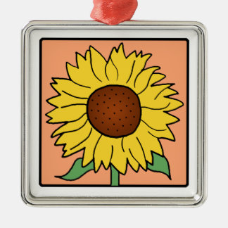 Cartoon Clip Art Garden Summer Sunflower Flower Ornaments
