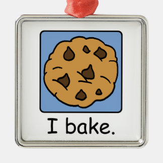 Cartoon Clip Art Yummy Chocolate Chip Cookie Ornaments