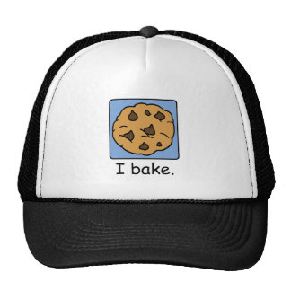 Cartoon Clip Art Yummy Chocolate Chip Cookie Hat