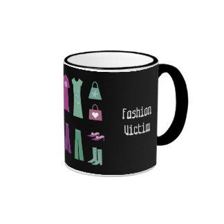 Cartoon clothes Fashion Victim mug
