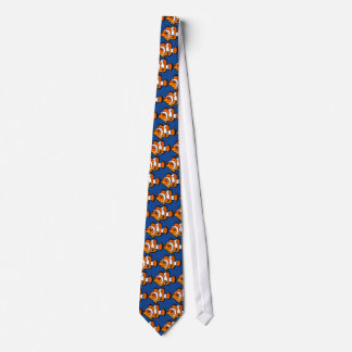 Cartoon Clownfish Tie