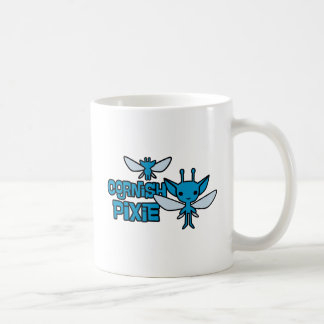 Cartoon Cornish Pixie Character Art Coffee Mug