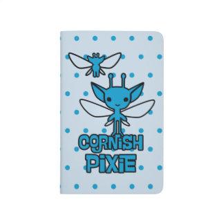 Cartoon Cornish Pixie Character Art Journal