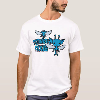 Cartoon Cornish Pixie Character Art T-Shirt