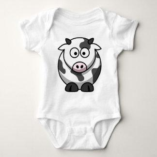 Cartoon Cow Baby Bodysuit