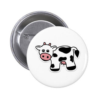 Cartoon Cow Pin