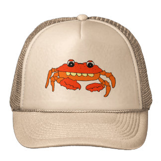 Cartoon crab cap
