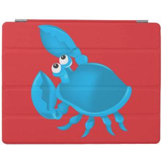 Cartoon crab iPad cover