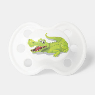 Cartoon Crocodile Baby Pacifiers