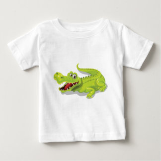 Cartoon Crocodile Baby T-Shirt