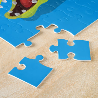 Cartoon Crocodile Jigsaw Puzzle