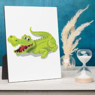 Cartoon Crocodile Plaque