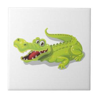 Cartoon Crocodile Tile