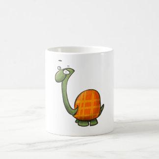 cartoon cute animals - turtle coffee mug