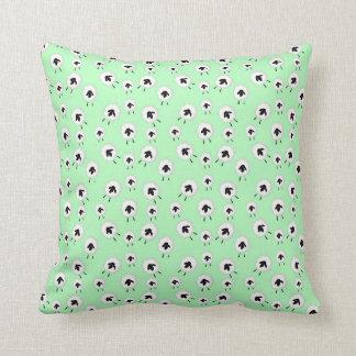 Cartoon cute sheep pattern cushion