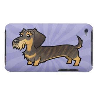 Cartoon Dachshund (wirehair) iPod Touch Covers