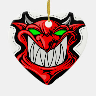 Cartoon Devil Ceramic Ornament
