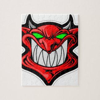 Cartoon Devil Jigsaw Puzzle