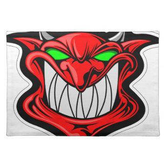 Cartoon Devil Placemat