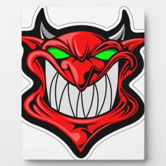 Cartoon Devil Plaque