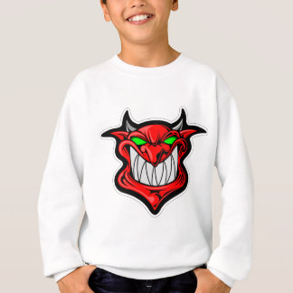 Cartoon Devil Sweatshirt