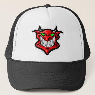 Cartoon Devil Trucker Hat