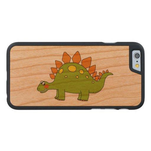cartoon dinosaur stegosaurus carved® cherry iPhone 6 case