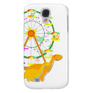 Cartoon Dinosaurs Ferris Wheel Samsung Galaxy S4 Covers