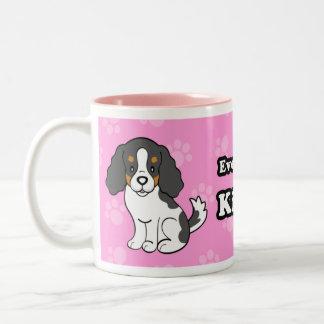 Cartoon Dog Cavalier King Charles Mug