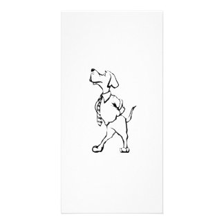Cartoon Dog Photo Cards