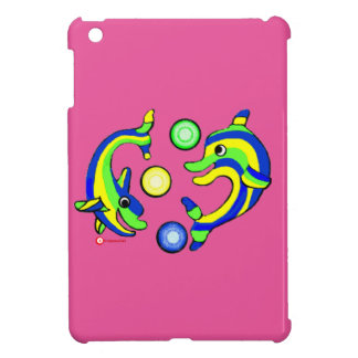Cartoon Dolphins Case For The iPad Mini