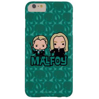 Cartoon Draco and Lucius Malfoy Character Art Barely There iPhone 6 Plus Case