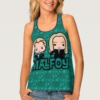 Cartoon Draco and Lucius Malfoy Character Art Singlet