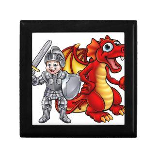Cartoon Dragon and knight 2017 A3-01 Gift Box