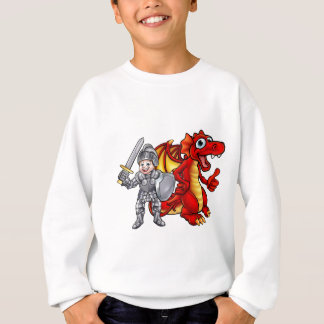 Cartoon Dragon and knight 2017 A3-01 Sweatshirt