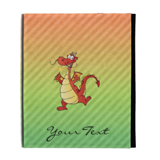 Cartoon Dragon Design iPad Case