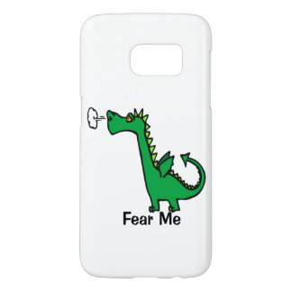 Cartoon Dragon Fear Me