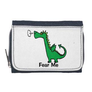 Cartoon Dragon Fear Me Wallets