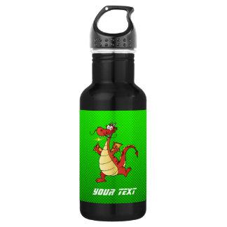 Cartoon Dragon; Green 532 Ml Water Bottle
