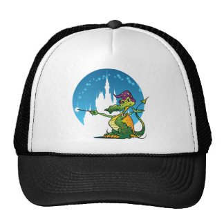 Cartoon Dragon Wizard Cap