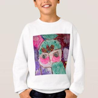 Cartoon drama face sweatshirt