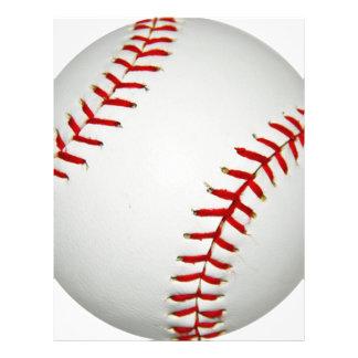Cartoon Drawn American Baseball 21.5 Cm X 28 Cm Flyer